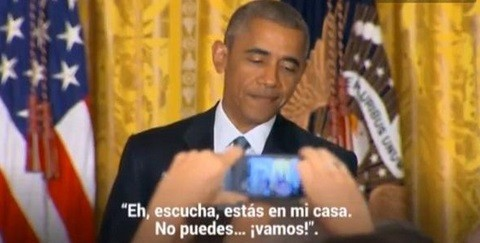 Obama se enfrenta transexual