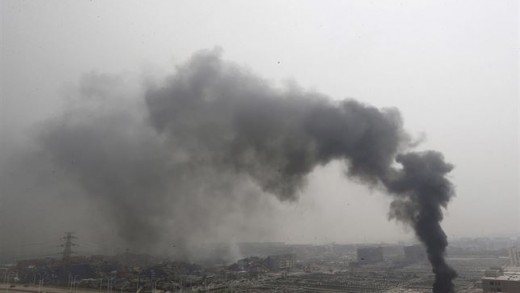 Tianjinm, China, explosiones