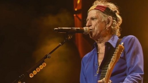 Keith Richards, Crosseyed heart, The Rolling Stones