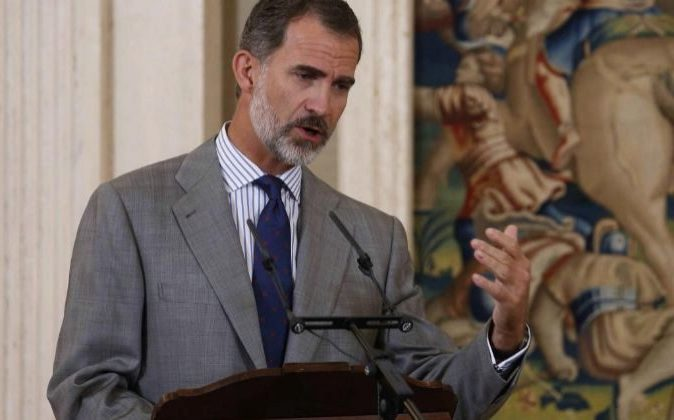El Rey Felipe VI inaugura el Mobile World Congress en Barcelona