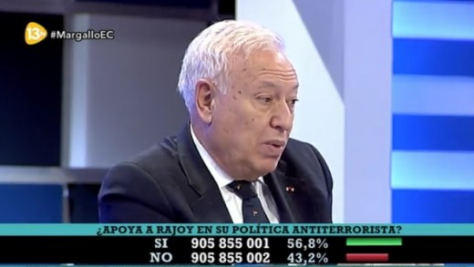 Margallo en 13 TV