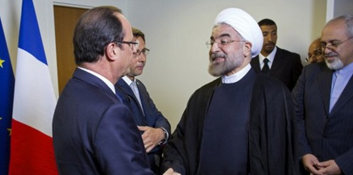 Rohani y Hollande