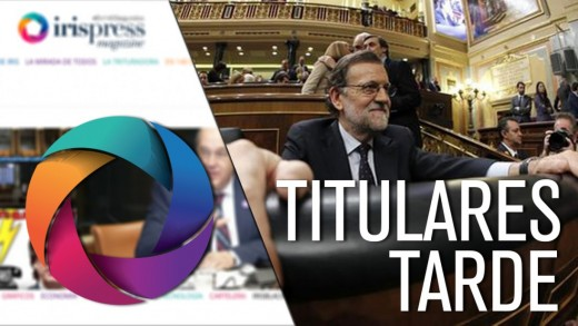 TITULARES TARDE 15 MARZO
