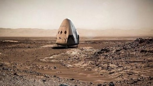 SpaceX, Marte