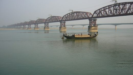 india, barca, hundida, hooghly