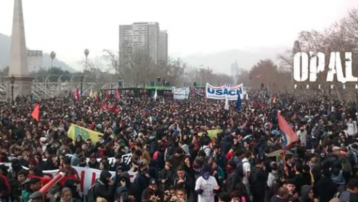 protestas, estudiantes, chile