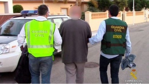 guardia civil, fugitivos