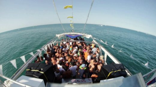 party, boat, control, Guardia Civil, verano, fiesta, barcos