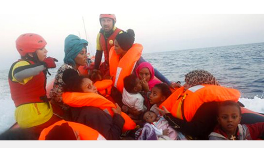 Proactiva Open Arms, Oscar Camps, emigrantes, refugiados, mar,