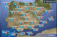 cinco, provincias, alerta, nieve, pais, descenso, temperaturas