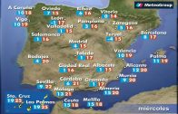 temperaturas, soleado, estable, jornada