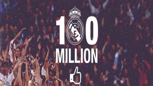 Real Madrid, fans, seguidores, facebook, 10 millones