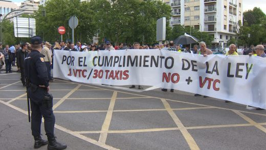 taxistas-VTC,CONCENTRACIÓN-MADRID