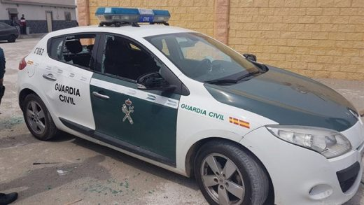 guardia civil, Cádiz