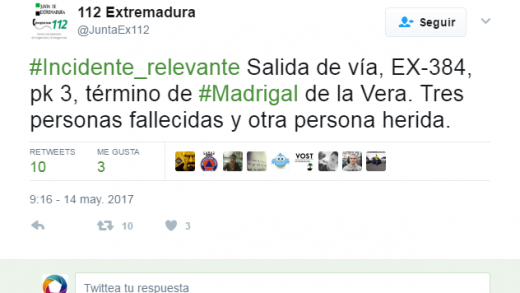 Madrigal de la Vera, Navalmoral de la Mata, Guardia civil, accidente, Extremadura, emergencias 112, La Vera