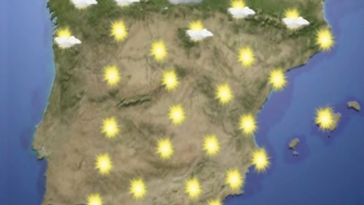 temperaturas, cielos despejados
