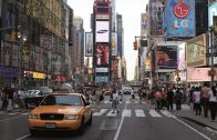 coche, atropello, NY, Times Square