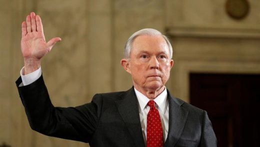 Jeff Sessions, Trump, Estados Unidos