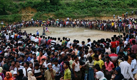 Birmania, minas, Bangladesh, musulmanes, minoría, rohingya, Human Rights Watch