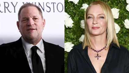 "Uma Thurman sobre Harvey Weinstein: ""No mereces ni una bala"""