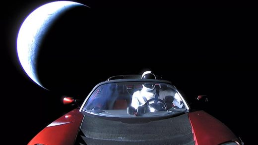 starman, falcon x, space x, tesla roadster, Elon Musk