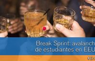 Sprint break: avalancha de estudiantes en EEUU #En60″