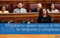 tampones, IVA, gobierno