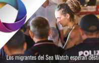 Los migrantes del Sea Watch esperan la confirmación de su destino