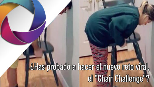 reto, chair challenge, mujer, hombre